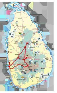 Схема маршрута групповой бюджетной программы